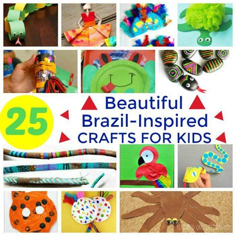 25 beautiful brazil inspired crafts for rainforest 389   0cb358c0ba00253a682353c2fddbd788 american crafts kid activities