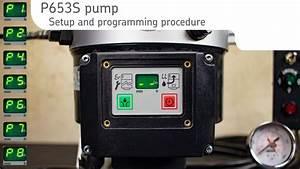 P653s Pump Programming Procedure