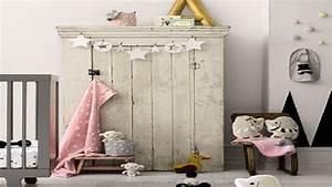 Deco Chambre Bebe Fille Gris Rose : la d co enchante la chambre b b fille d co cool ~ Teatrodelosmanantiales.com Idées de Décoration