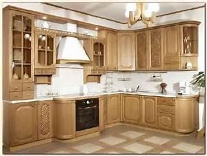 Repeindre cuisine bois repeindre une cuisine en chene for Deco cuisine avec meuble en bois