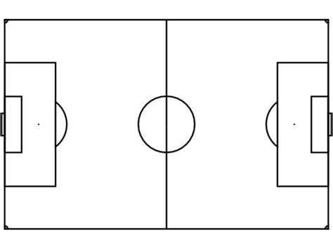 soccer field template printable soccer field diagram cliparts co
