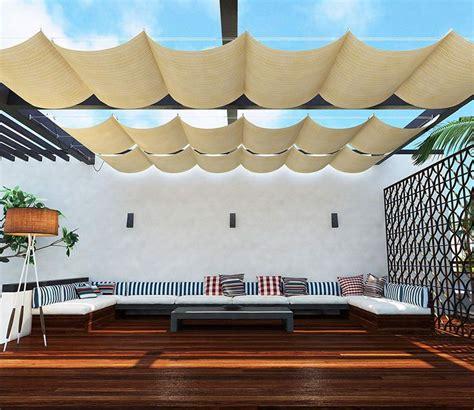 retractable awning   review shade sail shade sails patio deck shade