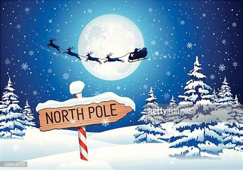 Type Of Christmas Trees by North Pole Stock Illustrations And Cartoons Getty Images
