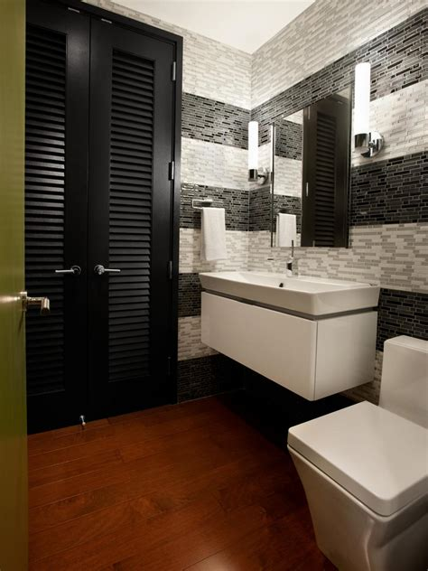 Modern Bathroom Ideas Images by Half Baths And Powder Rooms Hgtv