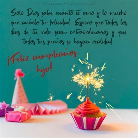 Frases de cumpleaños para un HIJO 🧡 +150 Mensajes【2019】