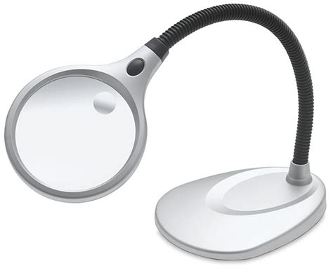 Desktop Led Magnifying L Nz by Ultraoptix Desktop Led Magnifier Blick Materials