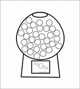 Dot Gumball Machine Printable Printables Coloring Preschool Pages Marker Bingo Dots Sticker Letter Fall Activities Chart Dauber Painting Activity Math sketch template