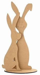 Holzarbeiten Mit Kindern Vorlagen : die besten 25 osterhasen aus holz ideen auf pinterest ostern basteln holz osterdeko aus holz ~ Watch28wear.com Haus und Dekorationen