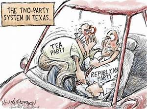 Political cartoons of the week: Tea Party vs. the GOP ...