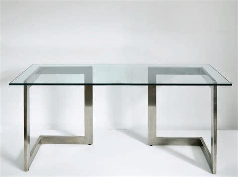 bureau plateau verre 25 best images about meubles on bureau ikea