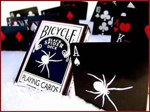 Black Spider Deck Black & White