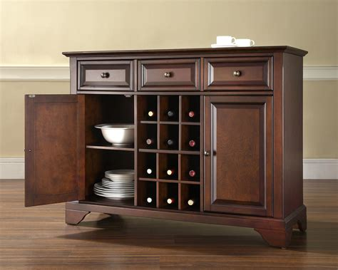 Sideboards And Servers by Crosley Lafayette Buffet Server Sideboard Cabinet With
