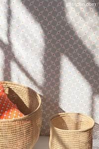 Papier Petit Pan : papier peint petit pan motif p pin couleur gris chaud ~ Zukunftsfamilie.com Idées de Décoration