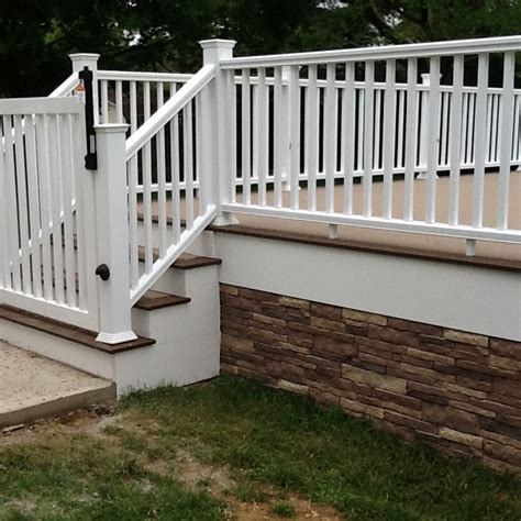 inexpensive deck skirting ideas decks deck idea pictures