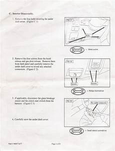Hella Fog Light Installation Instructions