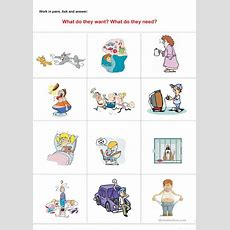 What Do They Wantneed? Worksheet  Free Esl Printable Worksheets Made By Teachers