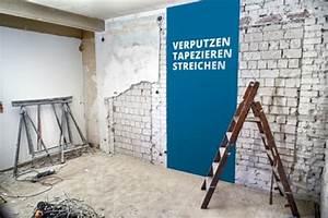 Tapezieren Oder Streichen : putz oder tapete welche wandgestaltung passt am besten ~ Frokenaadalensverden.com Haus und Dekorationen