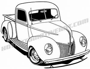 1953 ford f100 coloring pages coloring pages With 1953 ford hot rod
