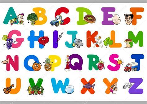 alfabeto de dibujos animados para ni 241 os vector de stock 169 izakowski 91066830