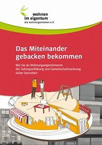 Wohnen In Vs : kostenfreier pdf ratgeber f r wohnungsk ufer zur gemeinschaftsordnung wohnen im eigentum e v ~ A.2002-acura-tl-radio.info Haus und Dekorationen