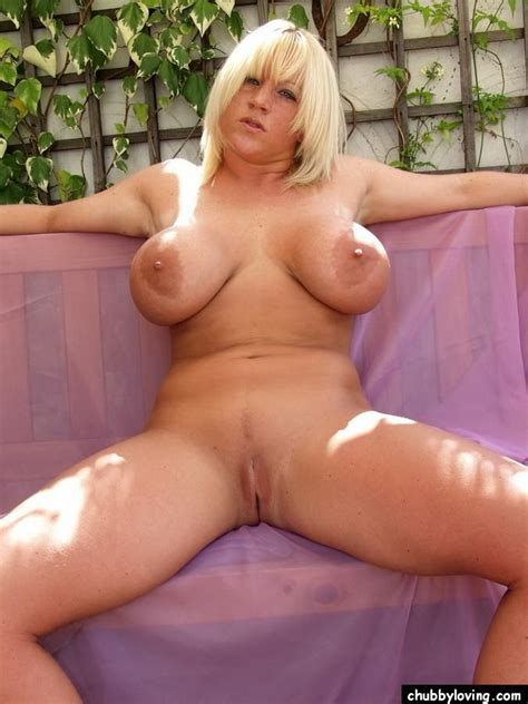 big tits chubby blonde cherry b modelling nude outdoors pichunter
