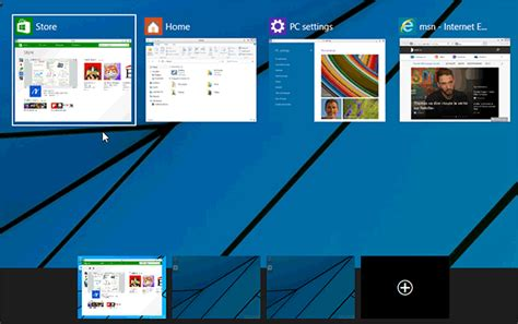 virtuel bureau bureaux virtuels windows 10 déplacer les applications d