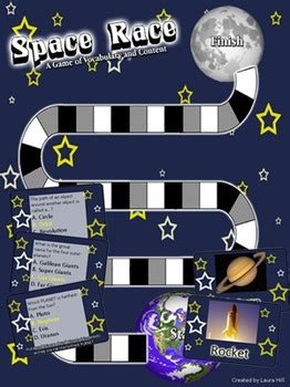 space race  space game  vocabulary  content
