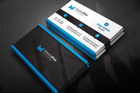 modern business card templates pages word ai