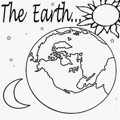 Planet Coloring Pages Earth Star Printable Solar