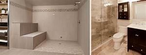 Luxury Showers Walk In Open Showers
