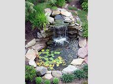 Estanque de jardín ideas para decoración