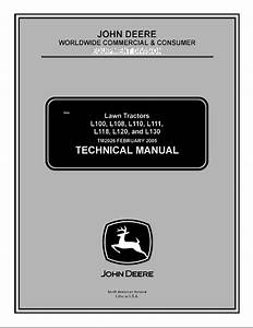 John Deere L100  L108  L110  L111  L118  L120  L130 Lawn