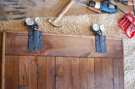 installing barn door hardware diy sliding barn door