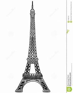 Eiffel Tower Vector Illustration Stock Vector ...