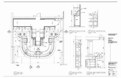 Bar Commercial Plan Blueprints Drawings Designs