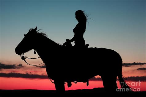 sunset ride photograph  val armstrong