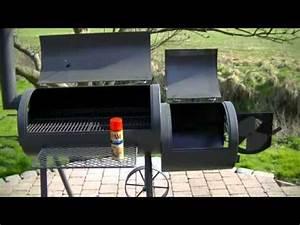 Fabriquer Un Barbecue Avec Un Bidon : pr parer un barbecue smoker seasoning youtube ~ Dallasstarsshop.com Idées de Décoration