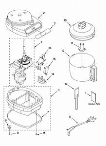 Kitchenaid Kfc3100cr2 Food Processor Parts