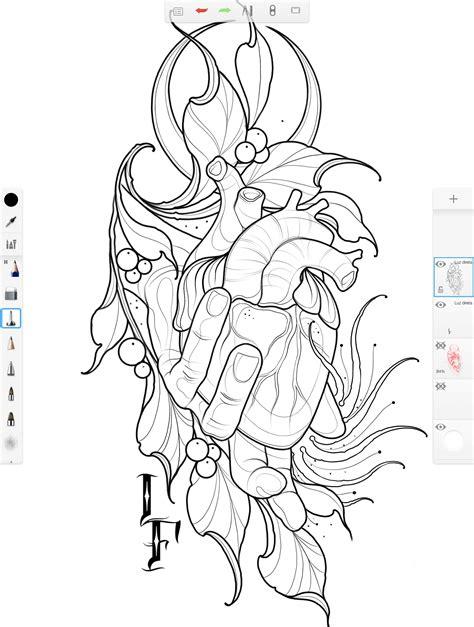 Digital to Skin: Using SketchBook to Design Tattoos | Tattoo drawings, Tattoo designs, Tattoo