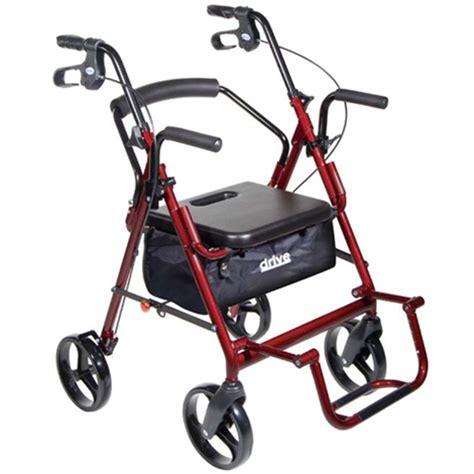 rollator walker drive wheelchair medical transport duet healthykin