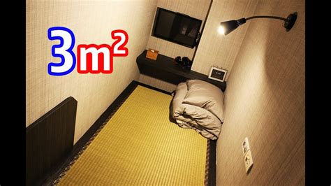 mini japanese tatami hotel room  square meters