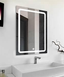 Spiegel Mit Led Licht : wow badspiegel profi led licht spiegel 50x70cm touch sensor bad wandspiegel ebay ~ Bigdaddyawards.com Haus und Dekorationen