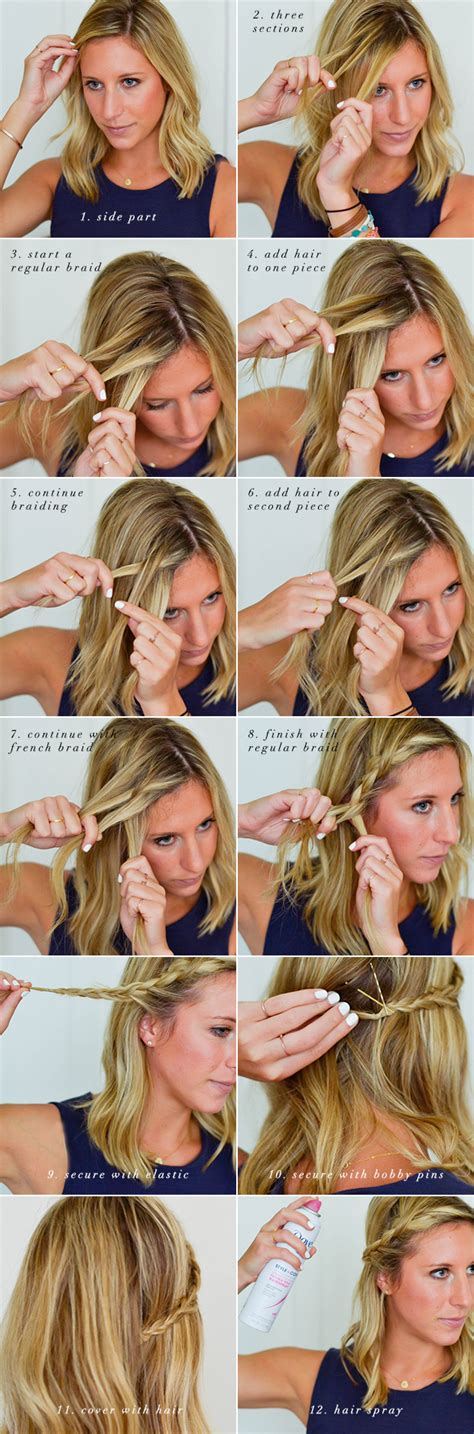 how to braided hairstyle for summer