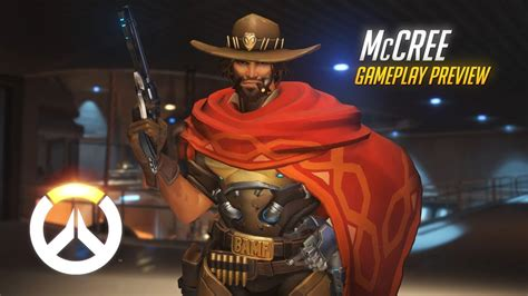 McCree Gameplay Preview | Overwatch | 1080p HD, 60 FPS ...