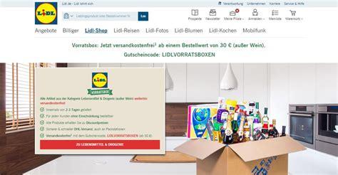 Inside Lidl Store Stock Photo