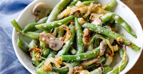 easy green bean casserole recipe  scratch paleo grubs