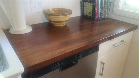 Staining Butcher Block Countertops by Salt Marsh Cottage How To Finish Butcher Block