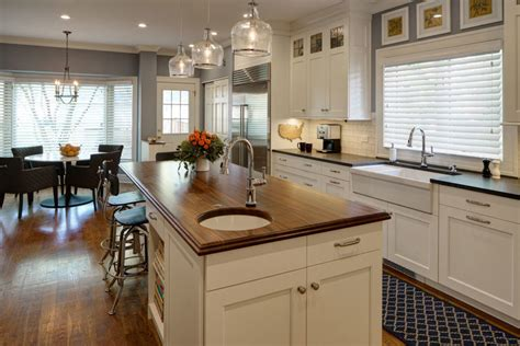 Sapele Mahogany Kitchen Island Top Designed By Drury Design