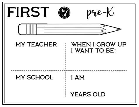 printable  day  school    sign