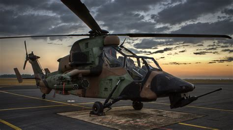 wallpaper eurocopter ec tiger attack helicopter
